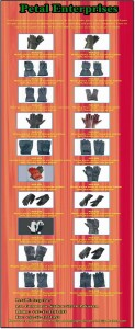 Leather Gloves Petal enterprises